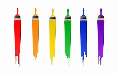 Paint Clipart Brush Clip Brushes Colourful Library
