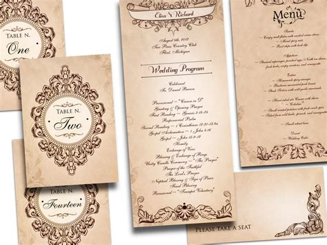 vintage wedding invitation glitter lace