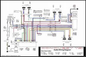 Stereo Wire Harness Diagram