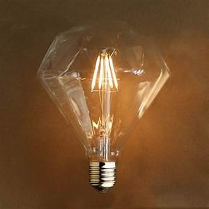 Ampoule Led Filament : ampoule filament led 4w e27 blanc chaud kosilum ~ Teatrodelosmanantiales.com Idées de Décoration