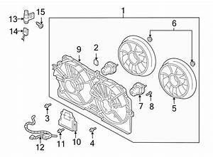 Chevrolet Impala Engine Cooling Fan Assembly