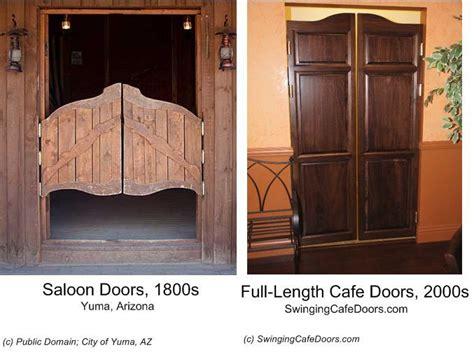 benefits  cafe  saloon doors