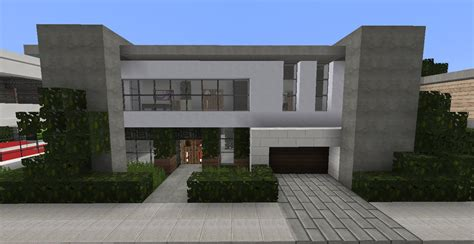 minecraft modern house designs 5