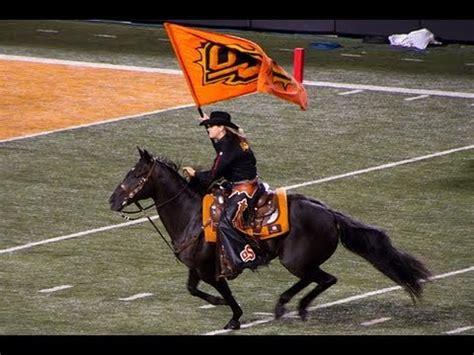 bullet horse mascot spirit rider oklahoma state