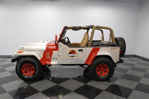 Park Wrangler by 1995 Jeep Wrangler Grande Jurassic Park Theme For