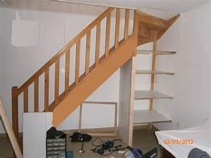 Placard Escalier : ma m thode pour placards coulissants sous escalier ~ Carolinahurricanesstore.com Idées de Décoration