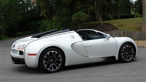 special edition bugatti veyron grand sport  blanc