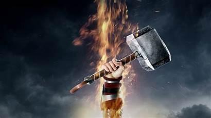 Hammer 4k Thors Screen Wallpapers 5k 8k