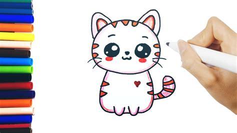 Allows bypassing the distance chat. dessin chat facile - Les dessins et coloriage