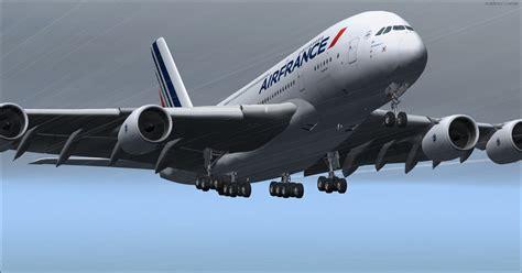 DOWNLOAD Airbus A380-800 VC Air France FSX & P3D - Rikoooo