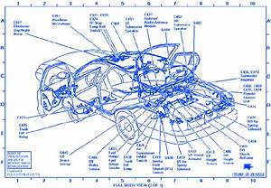 Lincoln Continental 1996 Luggage Compartment Electrical Circuit Wiring Diagram  U00bb Carfusebox