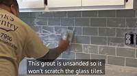 how to install glass mosaic tile How to Install a Glass Subway Tile Backsplash in New ...