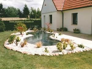 Jardin Avec Bassin : bassins de jardin ~ Melissatoandfro.com Idées de Décoration