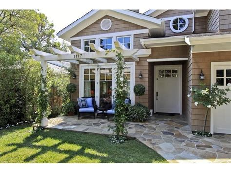 patio in front of house front porch pergola on pinterest front porch design front porch addition and white pergola