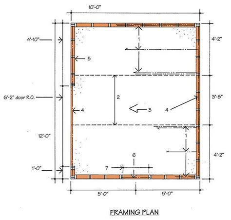 a frame building plans 10 12 storage shed building plans blueprints with gable roof