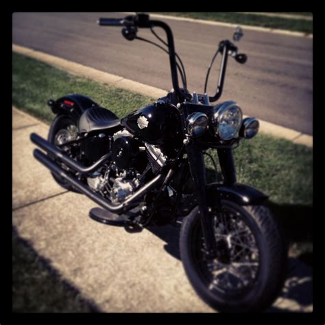 Harley Davidson Softail Slim Modification by Softail Slim With Personal Modifications Softail Slim