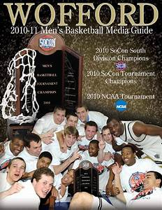 2010-11 Wofford Men's Basketball Media Guide by Wofford ...