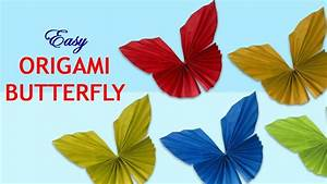 How To Make Paper Butterfly Easy