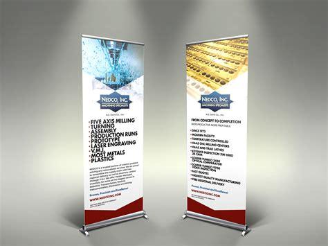 industrial trade show banner design brochure builders