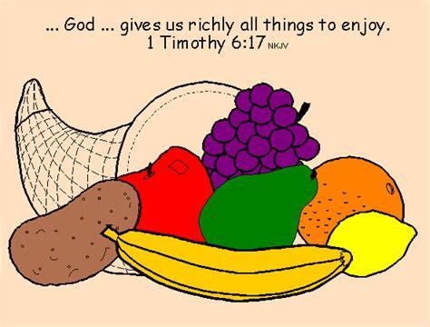 blessings bible lessons cornucopia 438 | cornucopia sample