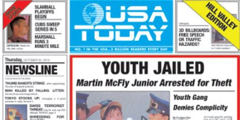 news today fans race to get back to the future paper