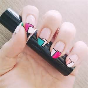Related keywords suggestions for love korean nail art