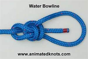 How To Tie A Bowline Knot Diagram