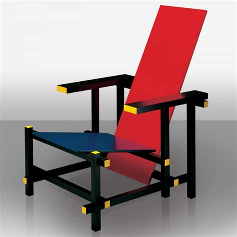 and blue chair gerrit rietveld designers more