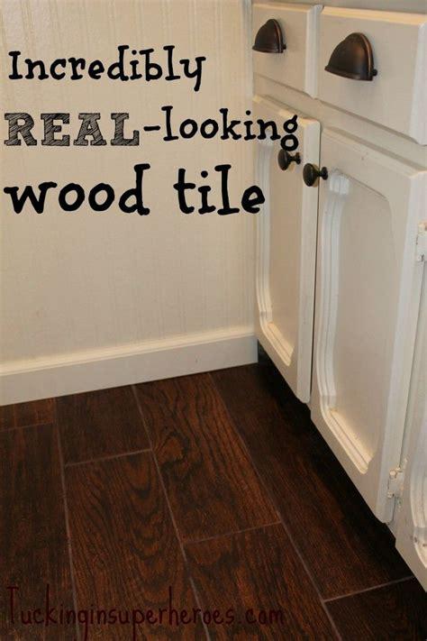wood tile    real wood tuckinginsuperheroes
