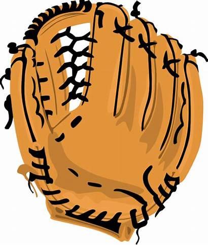 Clipart Baseball Glove Mitt Softball Svg Line
