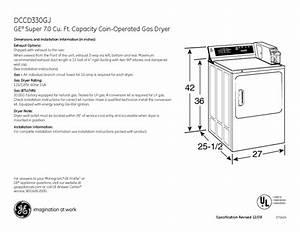 Ge Profile Dcd330eb Manuals