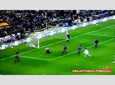Iván Zamorano vs Barcelona Real Madrid 5 0 Barcelona