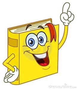 Cartoon Dictionary Book