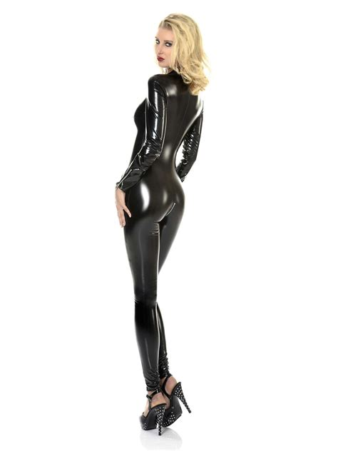 Küchen Weiss Lack by Lack Catsuit Sweety Weiss Lack Lack Damen Lack Catsuits