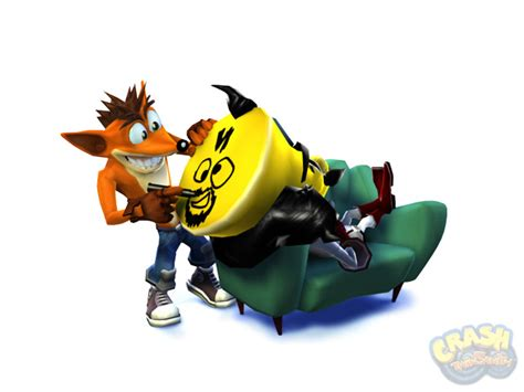 crash twinsanity promotional images crash mania