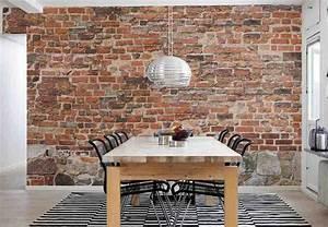 brick wall decoration ideas decor ideasdecor ideas With canape de jardin castorama 11 25 best ideas about wallpaper for living room on