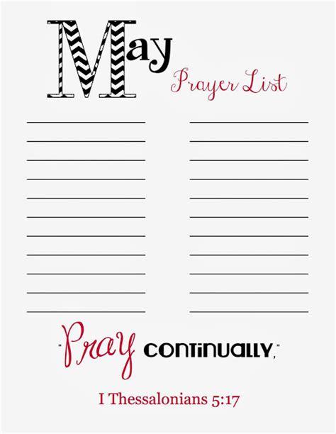 doodles stitches prayer list printable