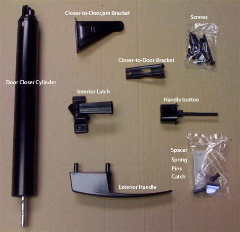 screen door parts black door hardware set for mobile home manufactured