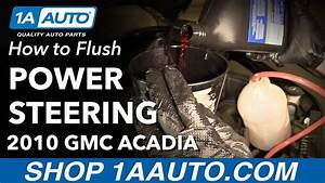 How To Flush Power Steering System 07