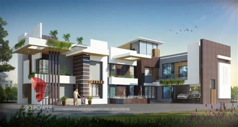 Home Design Visualiser : Wonderful Classical Modern Residential House's Bungalow