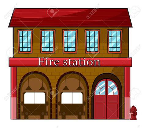 Fire station clipart 8 » Clipart Station