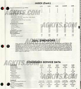 Kubota Farm Tractors Repair Manual