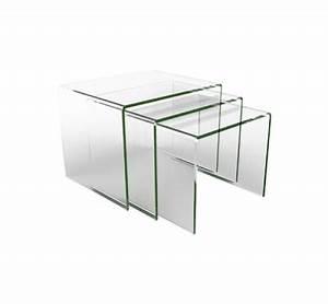 Table Basse En Solde : table basse en verre pas cher ~ Teatrodelosmanantiales.com Idées de Décoration