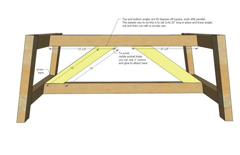 truss coffee table diy coffee table coffee table stand