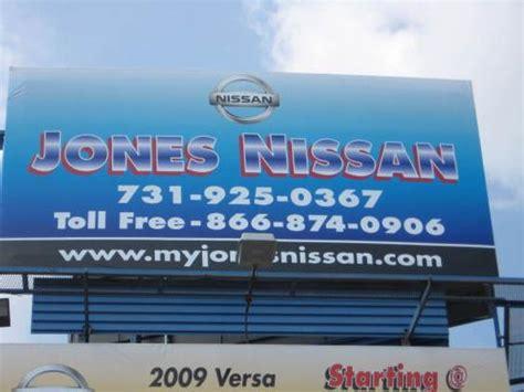 jones nissan car dealership  savannah tn