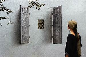 Pejac paints mesmerizing trompe loeil window and keyhole for Trompe loeil window paintings on the streets of istanbul by pejac