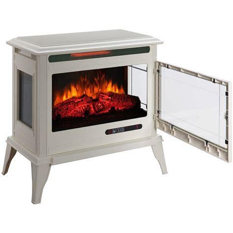 Decor Infrared Electric Stove 4500 Btu by Shop Mr Heater 25 In W 5 200 Btu Creme Metal Flat Wall