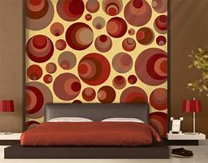 Tapeten Im Schlafzimmer : retro tapeten 26 inspirierende ideen ~ Sanjose-hotels-ca.com Haus und Dekorationen