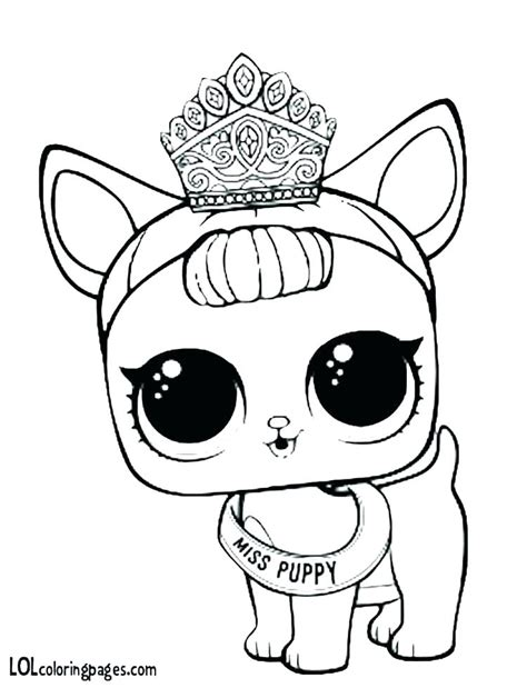 printable lol pets coloring pages  kids