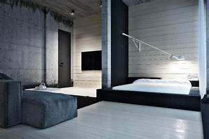 Stunning, Black, And, White, Interior, Design, By, Igor, Sirotov